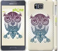 """Чехол на Samsung Galaxy Alpha G850F Совёнок """"2708c-65"""""""