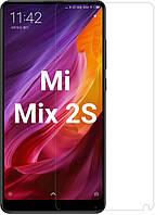 Защитное стекло Xiaomi Mi Mix 2S (Прозрачное 2.5 D 9H) (Сяоми Ксиаоми Ми Микс Мих 2C)