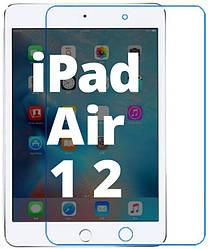 Защитное стекло iPad Air / Air 2 (Прозрачное 2.5 D 9H) (Айпад Аир Эир)
