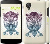 "Чехол на LG Nexus 5 Совёнок ""2708c-57"""