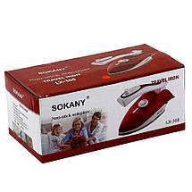 Дорожный утюг Sokany LX-368,очень удобный,компактный ,отличный подарок, фото 3