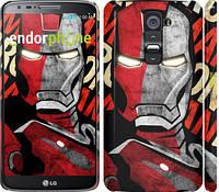 "Чехол на LG G2 Iron Man ""2764c-37"""