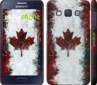"""Чехол на Samsung Galaxy A3 A300H Флаг Канады """"391c-72"""""""