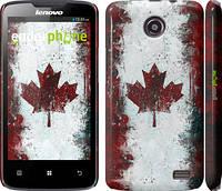 """Чехол на Lenovo A820 Флаг Канады """"391c-68"""""""