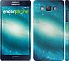 "Чехол на Samsung Galaxy A5 A500H Голубая галактика ""177c-73"""