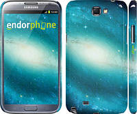 "Чехол на Samsung Galaxy Note 2 N7100 Голубая галактика ""177c-17"""