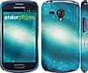 "Чехол на Samsung Galaxy S3 mini Голубая галактика ""177c-31"""