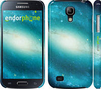 "Чехол на Samsung Galaxy S4 mini Duos GT i9192 Голубая галактика ""177c-63"""