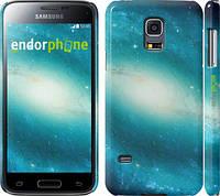 "Чехол на Samsung Galaxy S5 mini G800H Голубая галактика ""177c-44"""