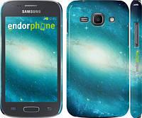 "Чехол на Samsung Galaxy Ace 3 Duos s7272 Голубая галактика ""177c-33"""