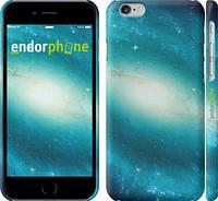 "Чехол на iPhone 6 Голубая галактика ""177c-45"""