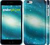 """Чехол на iPhone 6 Plus Голубая галактика """"177c-48"""""""