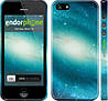 """Чехол на iPhone 5s Голубая галактика """"177c-21"""""""