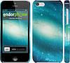 "Чехол на iPhone 5c Голубая галактика ""177c-23"""