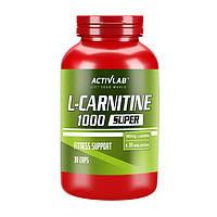 Л-карнитин Activlab L-Carnitine 1000 30 caps л-карнитин для похудения, жиросжигатель