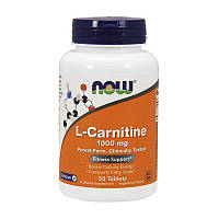 NOW L-Carnitine 1000 mg 50 tabs