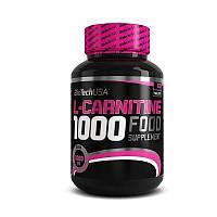 Л-карнитин BioTech L-Carnitine 1000 mg 60 tabs л-карнитин для похудения, жиросжигатель