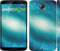 "Чехол на Motorola Nexus 6 Голубая галактика ""177c-67"""
