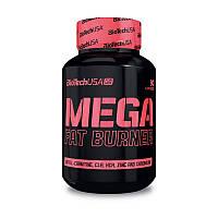 Жиросжигатель BioTech Mega Fat Burner 90 caps для сушки и похудения