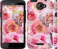 """Чехол на HTC One X+ Розы 1 """"2645c-69"""""""
