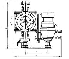 Шлюзовой питатель (затвор) Ш7-30М (аналог Ш3-30)