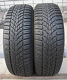 Шины б/у 195/65 R15 Dunlop SP Winter Sport 4D, ЗИМА, 6-7 мм, пара, фото 2