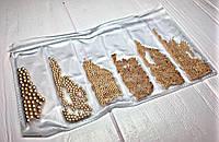 Набор бульонок для декора ногтей