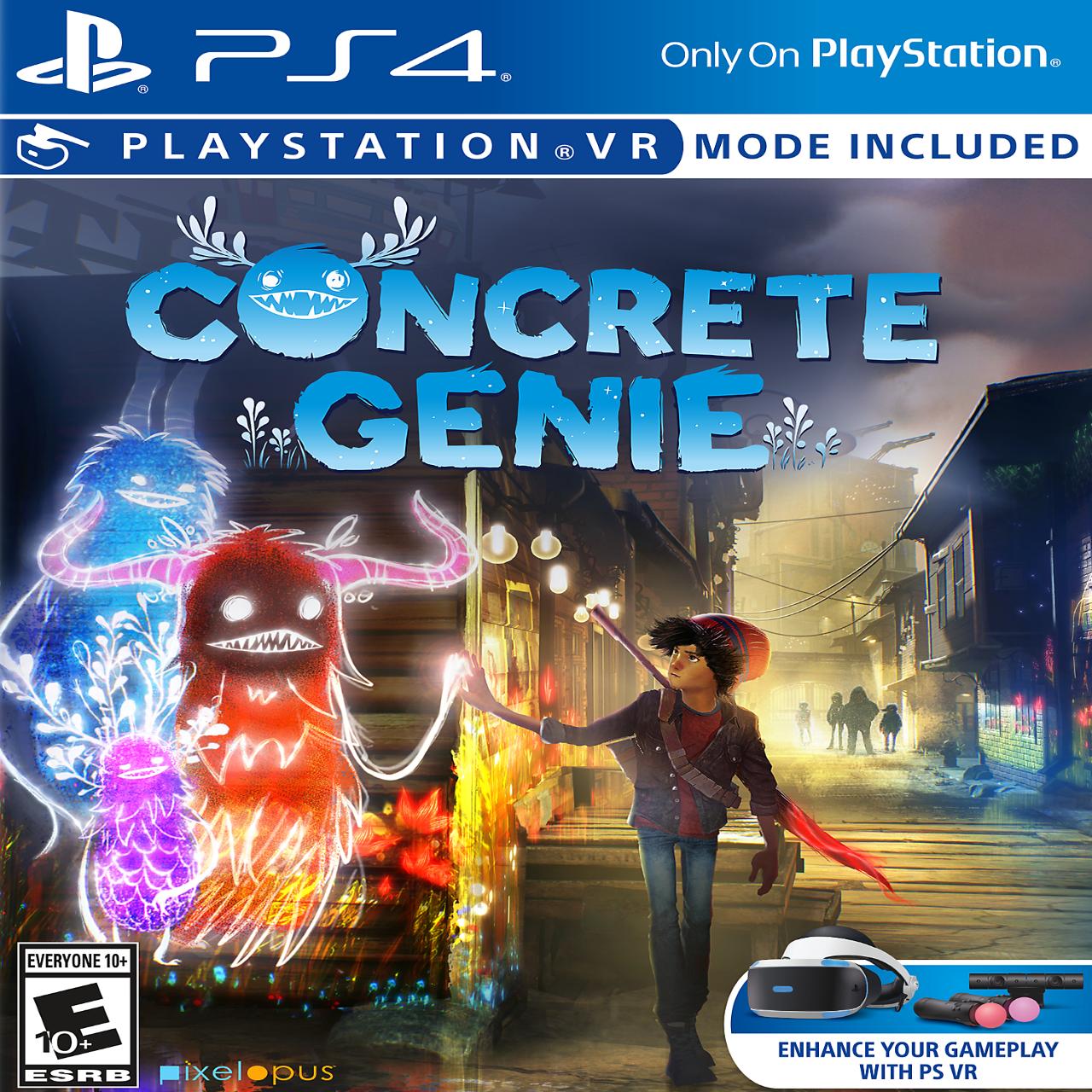 Concrete Genie PS4 RUS (NEW)