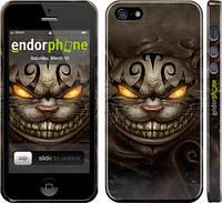 """Чехол на iPhone 5 Чеширский кот v2 """"1078c-18"""""""