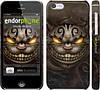 "Чехол на iPhone 5c Чеширский кот v2 ""1078c-23"""