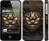 "Чехол на iPhone 4s Чеширский кот v2 ""1078c-12"""