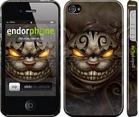 """Чехол на iPhone 4 Чеширский кот v2 """"1078c-15"""""""