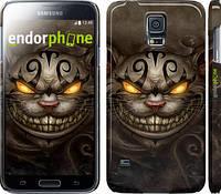 "Чехол на Samsung Galaxy S5 Duos SM G900FD Чеширский кот v2 ""1078c-62"""