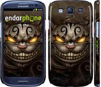 "Чехол на Samsung Galaxy S3 i9300 Чеширский кот v2 ""1078c-11"""