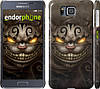 "Чехол на Samsung Galaxy Alpha G850F Чеширский кот v2 ""1078c-65"""