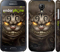 "Чехол на Samsung Galaxy S4 mini Duos GT i9192 Чеширский кот v2 ""1078c-63"""