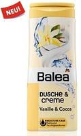 Крем-гель для душа Balea Dusche & Creme Vanille & Cocos - Крем-гель балеа ваниль 300 мл
