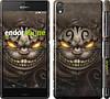 "Чехол на Sony Xperia Z3 D6603 Чеширский кот v2 ""1078c-58"""