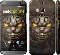 "Чехол на HTC One M8 dual sim Чеширский кот v2 ""1078c-55"""