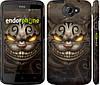 """Чехол на HTC One X+ Чеширский кот v2 """"1078c-69"""""""