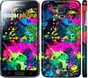 """Чехол на Samsung Galaxy S5 Duos SM G900FD Кляксы """"2236c-62"""""""
