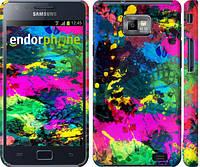 """Чехол на Samsung Galaxy S2 Plus i9105 Кляксы """"2236c-71"""""""