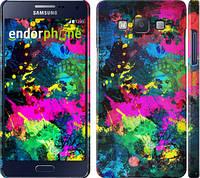 "Чехол на Samsung Galaxy A5 A500H Кляксы ""2236c-73"""