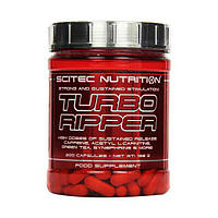 Жиросжигатель Scitec Nutrition Turbo Ripper 200 caps для сушки и похудения