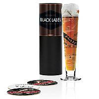 Пивний бокал Black Label від Anissa Mendil, 300 мл, фото 1