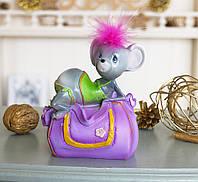 Скарбничка мишка гламур 11*13*8 см 026 A 046-1, фото 1