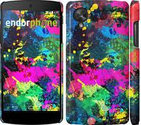 """Чехол на LG Nexus 5 Кляксы """"2236c-57"""""""