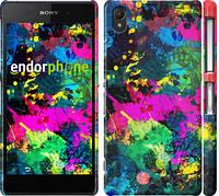 "Чехол на Sony Xperia Z2 D6502/D6503 Кляксы ""2236c-43"""