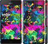 "Чехол на Sony Xperia Z3 D6603 Кляксы ""2236c-58"""