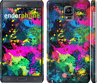"Чехол на Samsung Galaxy Note 4 N910H Кляксы ""2236c-64"""